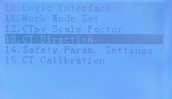 13 - CT configuration